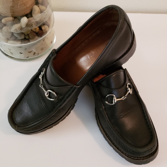 a6238830d3189 Gucci Shoes - Gucci Horsebit Leather Loafers